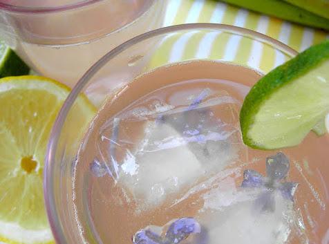 Rabarbersaft med citron