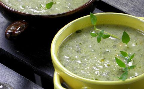 Soppa på stadsodlade grönsaker