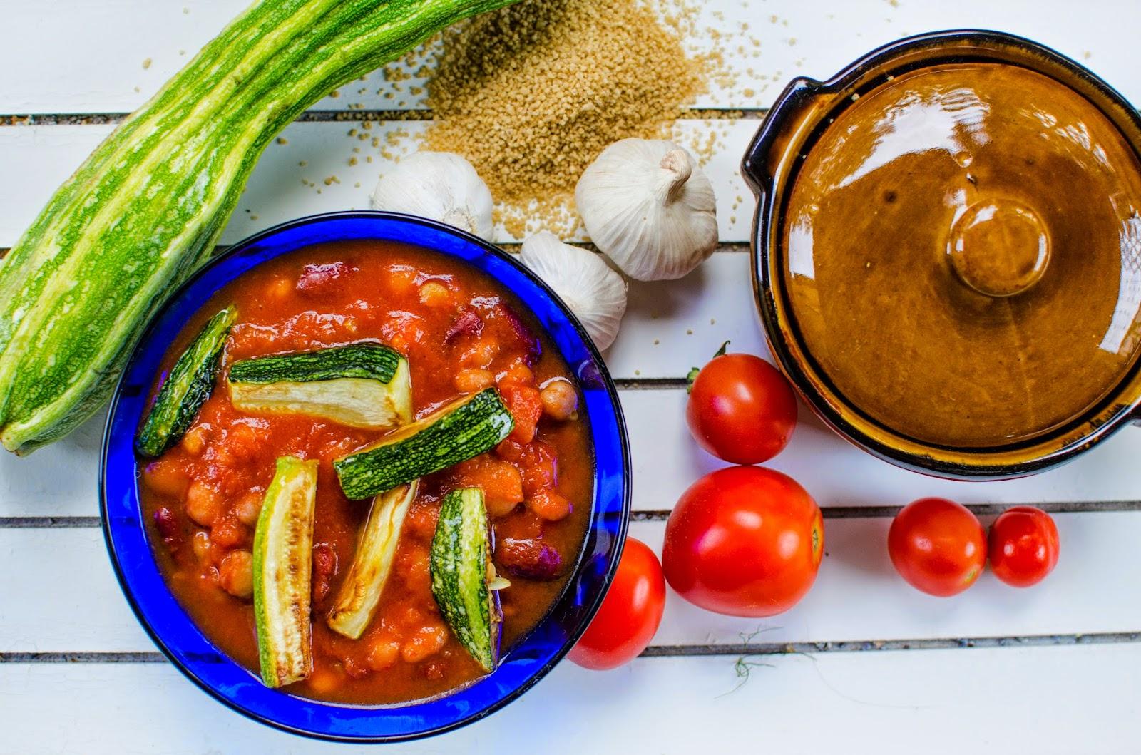Böngryta med couscous