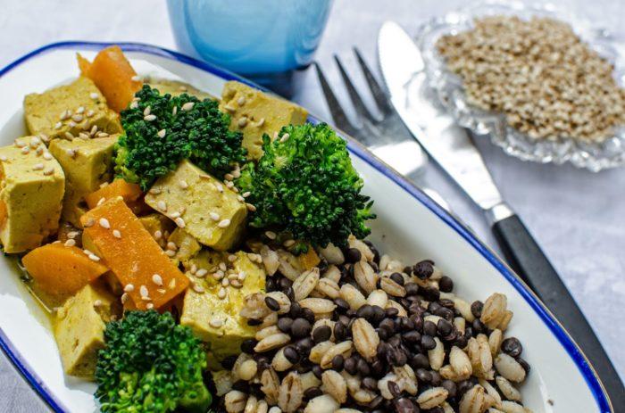 Tofu gryta curry Farbror Grön