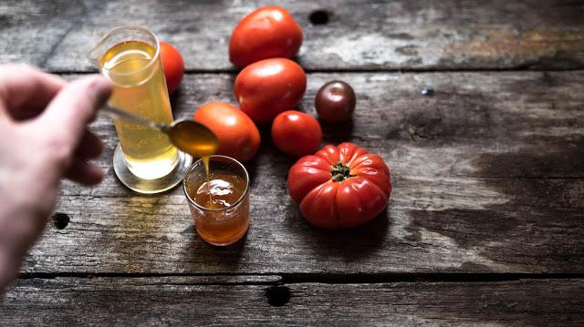 Tomater och tomatsirap