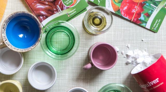 Bakpulverbehandling av chilifrön hos Farbror Grön