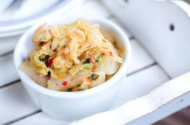 Kimchi - koreansk kålsallad