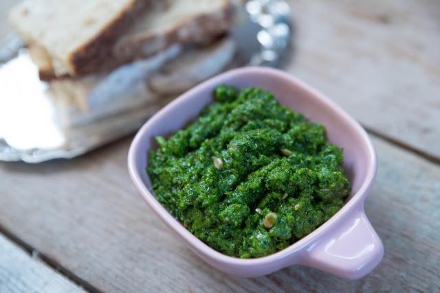 Grönkålspesto