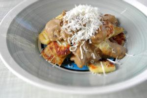 Gnocchi med champinjonsås