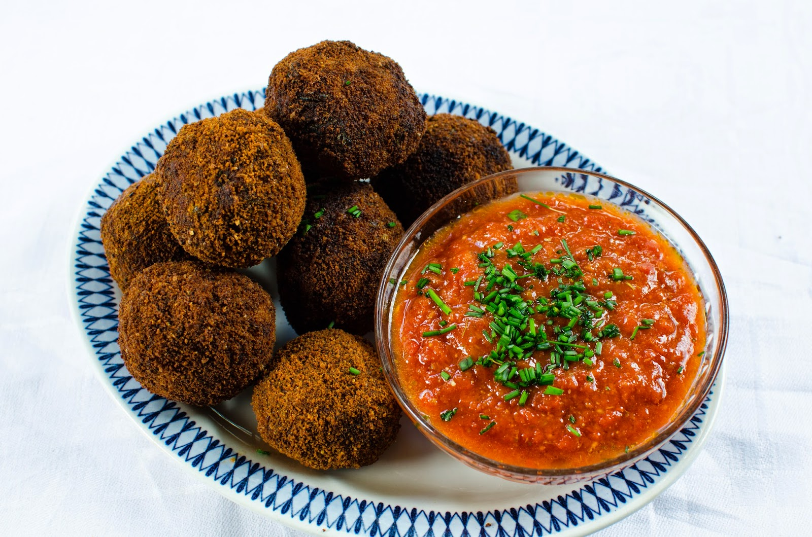 Arancini – friterade risbollar med pecorino