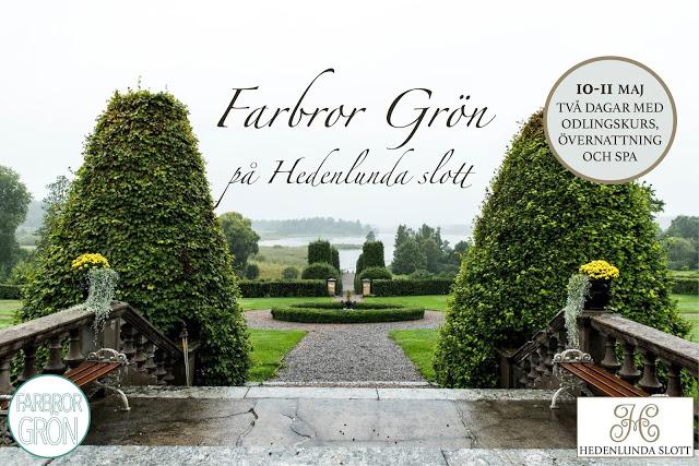 Odlingskurs med Farbror Grön på Hedenlunda slott
