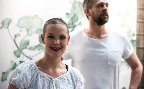 Sara Bäckmo och Johannes Wätterbäck i podden Två odlare emellan