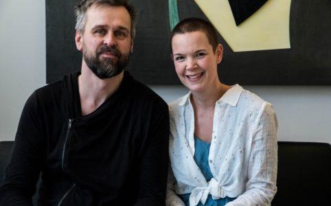 Två odlare emellan , Johannes Wätterbäck och Sara Bäckmo