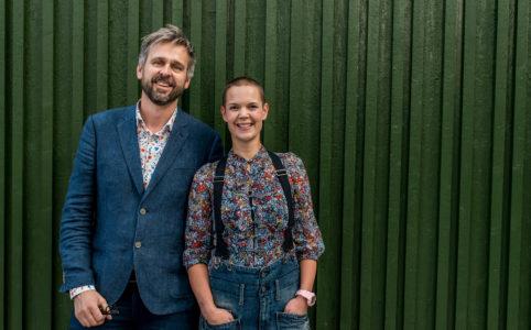 Johannes Wätterbäck och Sara Bäckmo