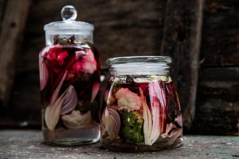 Picklade grönsaker