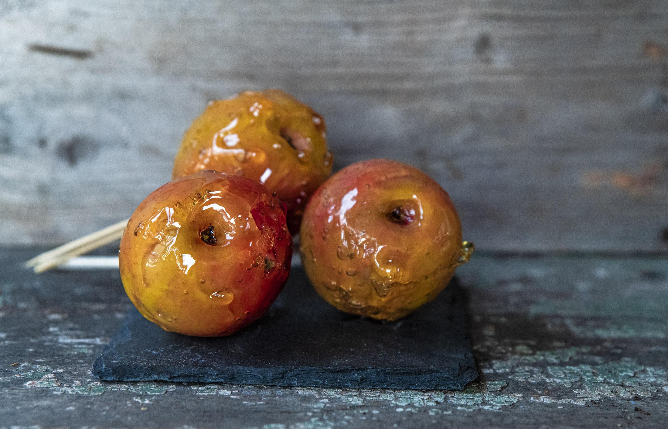 Kanderade äpplen, lika gott som godis
